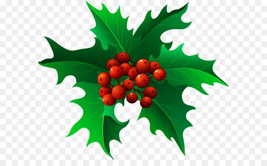 Christmas Holly Cartoon.Christmas Decoration Cartoon Png Download 8000 6720 Free