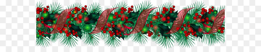 Christmas Tinsel Transparent Background.Christmas Lights Cartoon Png Download 2363 625 Free