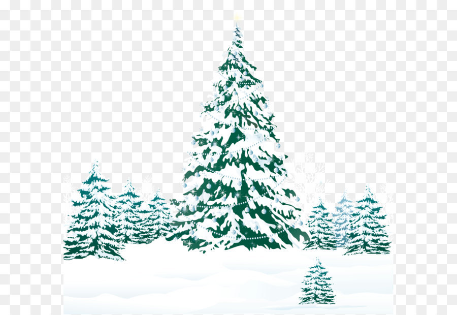 Christmas Trees Png.Christmas Tree Snow Png Download 1263 1202 Free
