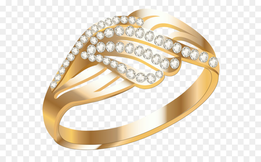 Ohrring Schmuck Hochzeit Ring Goldener Ring Mit Diamanten
