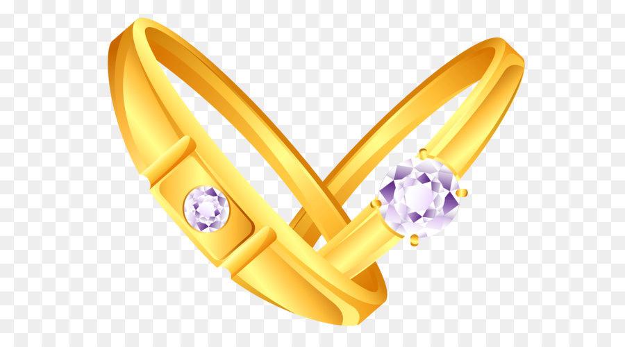 Hochzeit Ring Ohrring Goldene Ringe Mit Diamanten Png