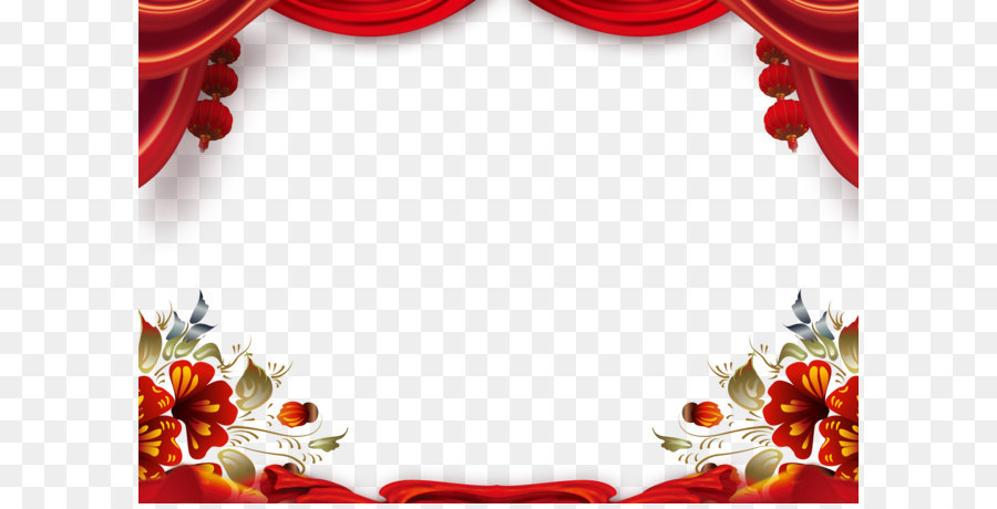 Chinese New Year Flower Background Png Download 47243307