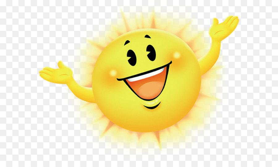 Smiley Cartoon - Sonne png herunterladen - 1576*1263