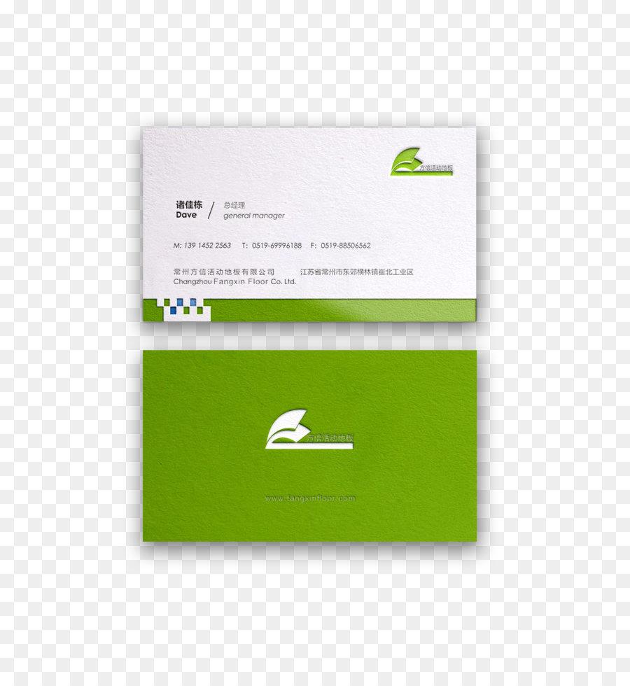 Visitenkarte Logo Seitenlayout Creative Visitenkarten
