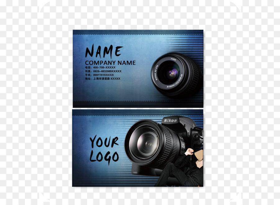 Visitenkarte Fotografie Computer Datei Fotografen Und