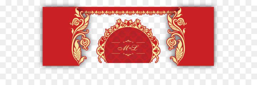 Invitation Card Frame Png Download 1353 588 Free