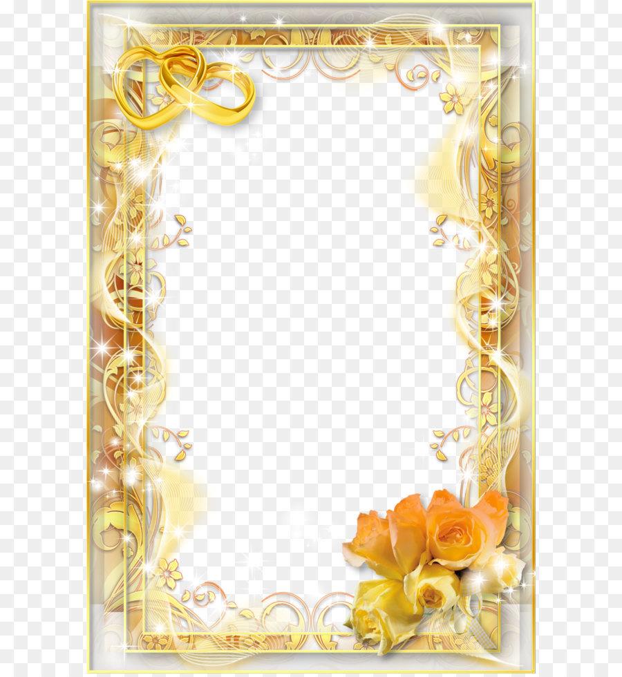 Floral Wedding Invitation Background Png Download 8531280