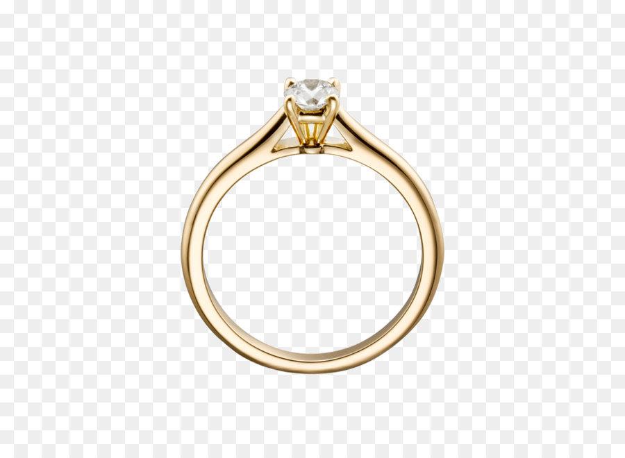 Verlobungsring Diamant Hochzeit Ring Goldring Png Png