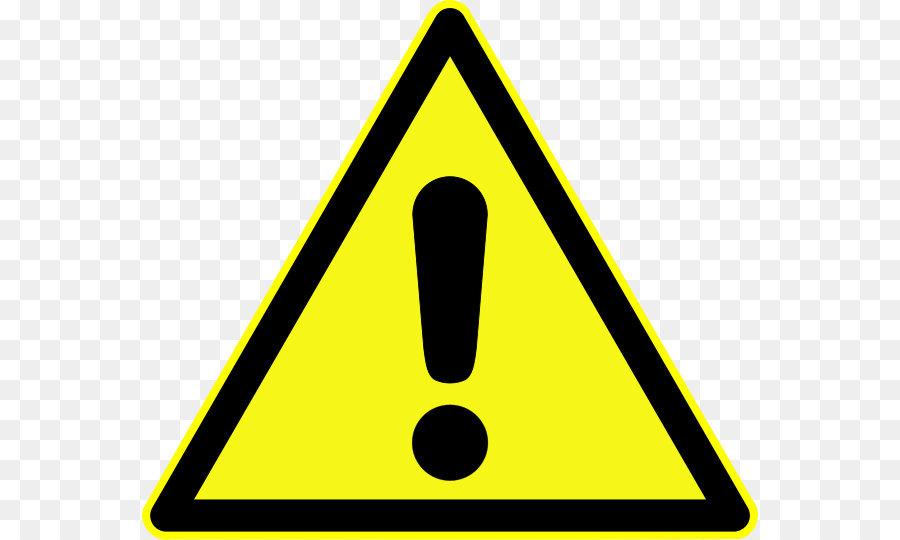 Simbolo di pericolo segnale di Avvertimento Adesivo - Attenzione ...