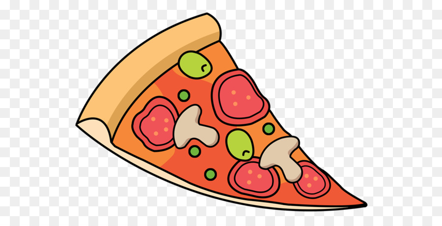 Clipart Of Pizza, If And Breathing - Triangle Pizza Slice Clipart, HD Png  Download - vhv