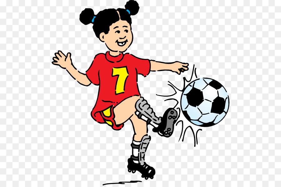 Fussball Spielen Clip Art Kinder Spielen Fussball Clipart