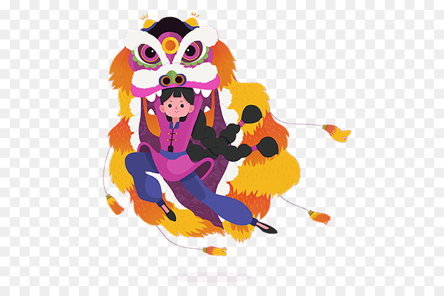 Chinese New Year Lion Dance Cartoon Png Download 609 600 Free Transparent Lion Png Download Cleanpng Kisspng