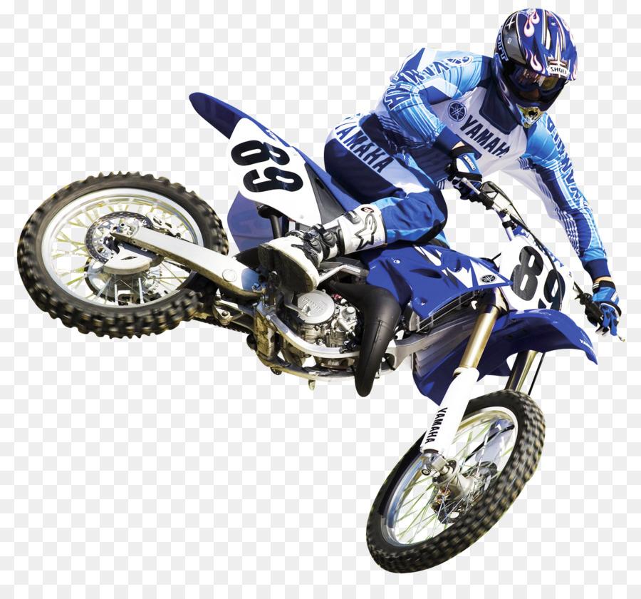 Motociclismo Motocross Bici Da Corsa Pilota Di Motocross