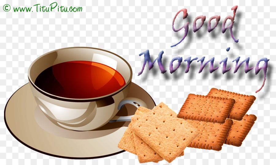 Tee Und Kaffee Frühstück Am Morgen Guten Morgen Png