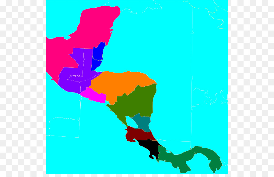 United States Central America South America Map Clip art ...