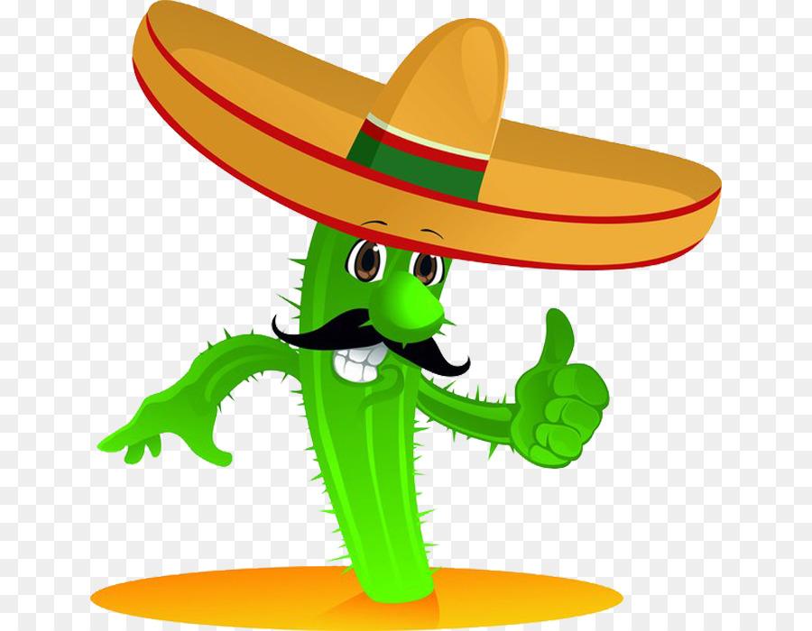 картинка кактус в шляпе