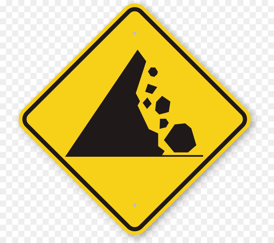 Segnale Di Pericolo Simbolo Di Pericolo Caduta Massi Cartelli Stradali Di Pericolo Scaricare Png Disegno Png Trasparente Piazza Png Scaricare
