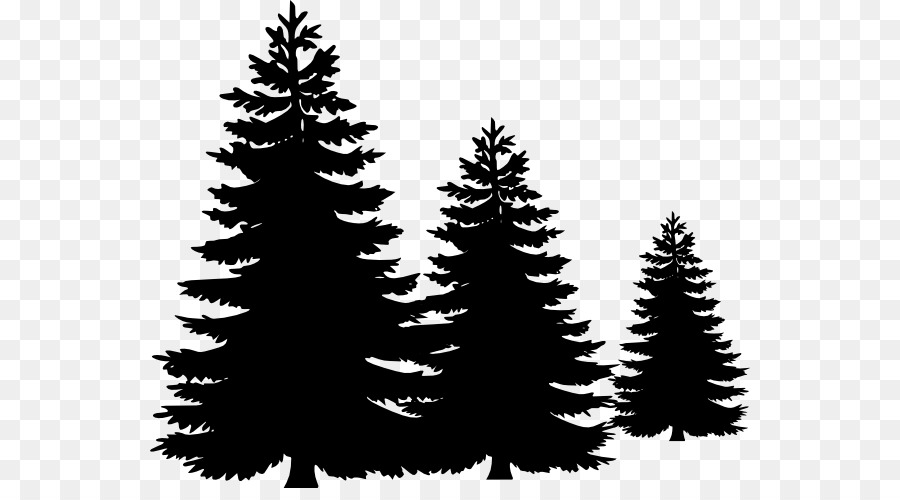 White Christmas Tree Png.Christmas Black And White Png Download 600 488 Free