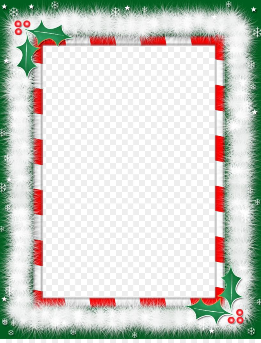 Christmas Word Template png download - 21*21 - Free For Christmas Border Word Template