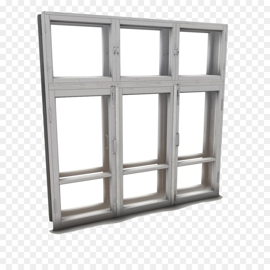 Fenster 3d Modellieren 3d Computer Grafik Low Poly Weisses