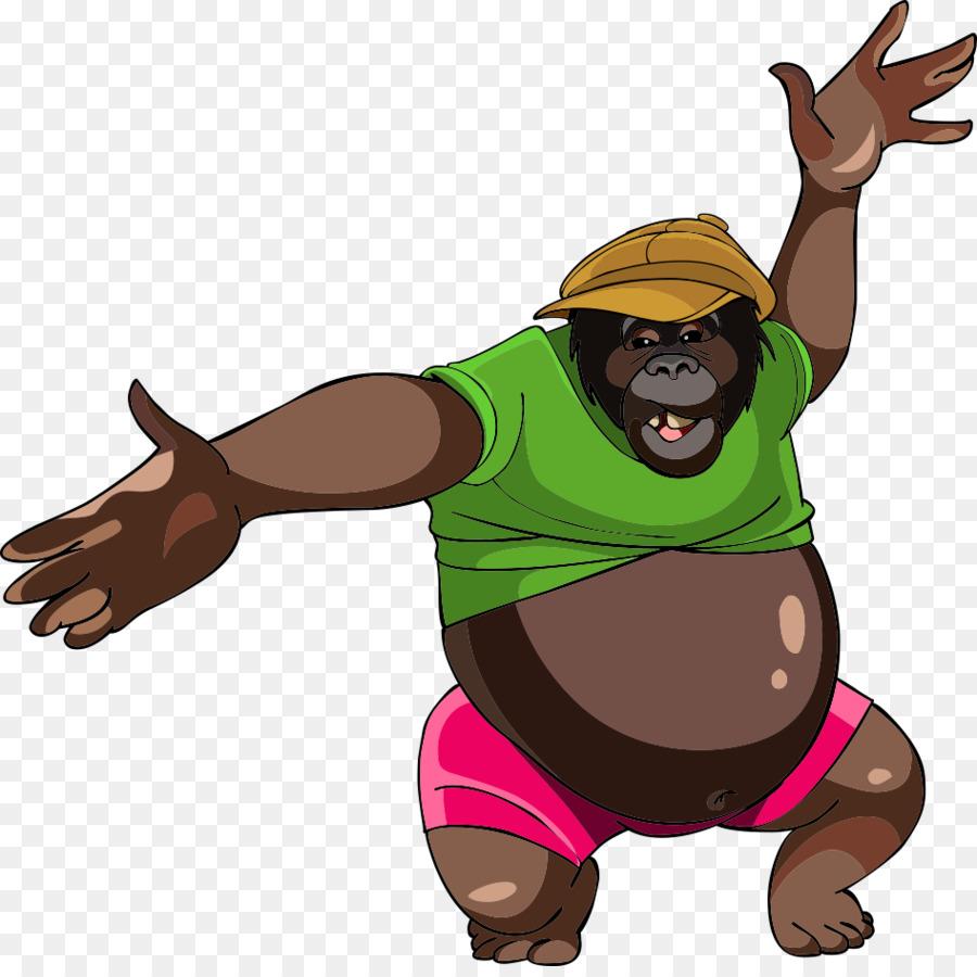 смысл горилла смешная рисунок только эстетично выглядит