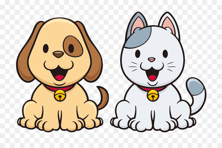 Cat And Dog Cartoon png download , 800*600 , Free