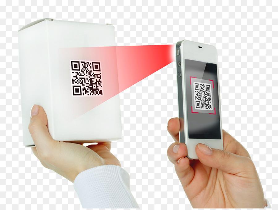 2d Code Bild Scanner Smartphone Werbung Smartphone Scannen