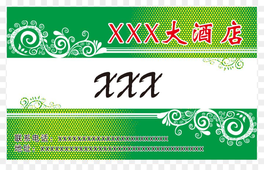 Hochzeit Einladung Visitenkarte Logo Visitenkarte