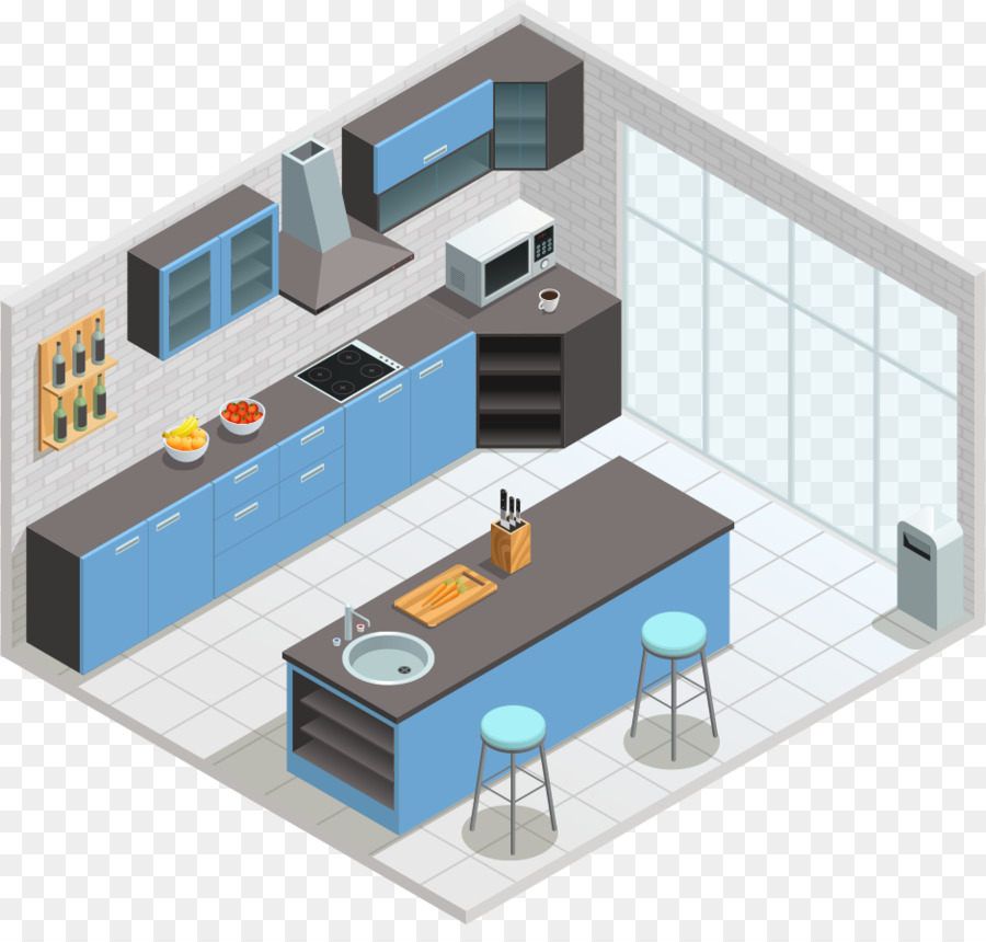 Tavoli Da Cucina Design.Tavolo Da Cucina Sedia Design D Interni Servizi Vettore Di