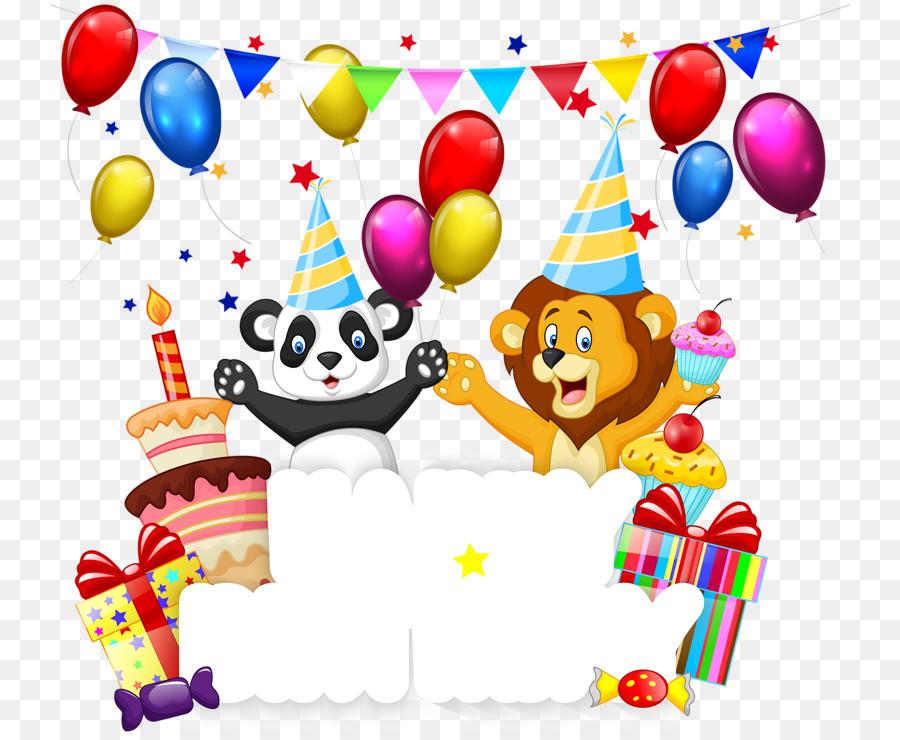 Картинки на день рождения для детей в пнг