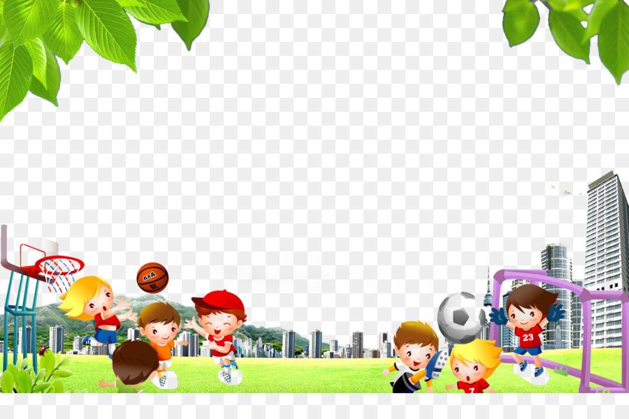 Basketball Fussball Kinder Basketball Fussball Cartoon Png