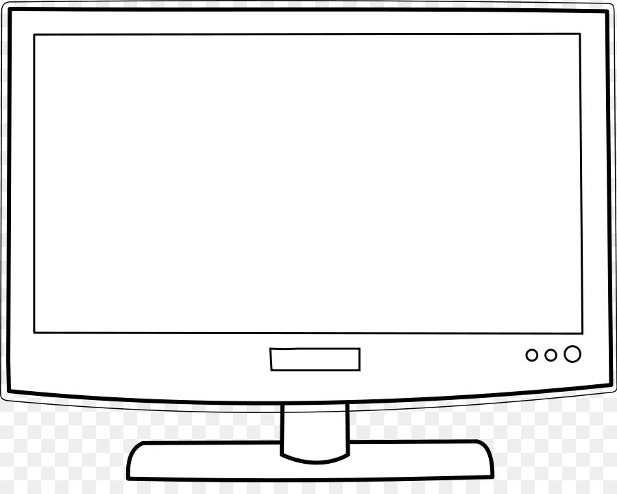Disegno Televisione Da Colorare.Show Televisivo Libro Da Colorare Disegno Schermo Del Computer