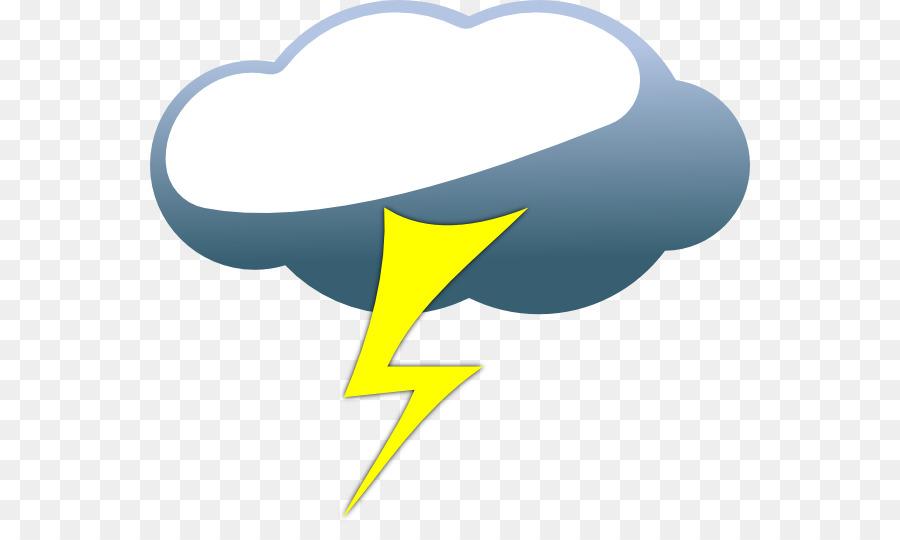 Clipart-Bilder von Schwere Wolken Wetter Symbol ClipArt