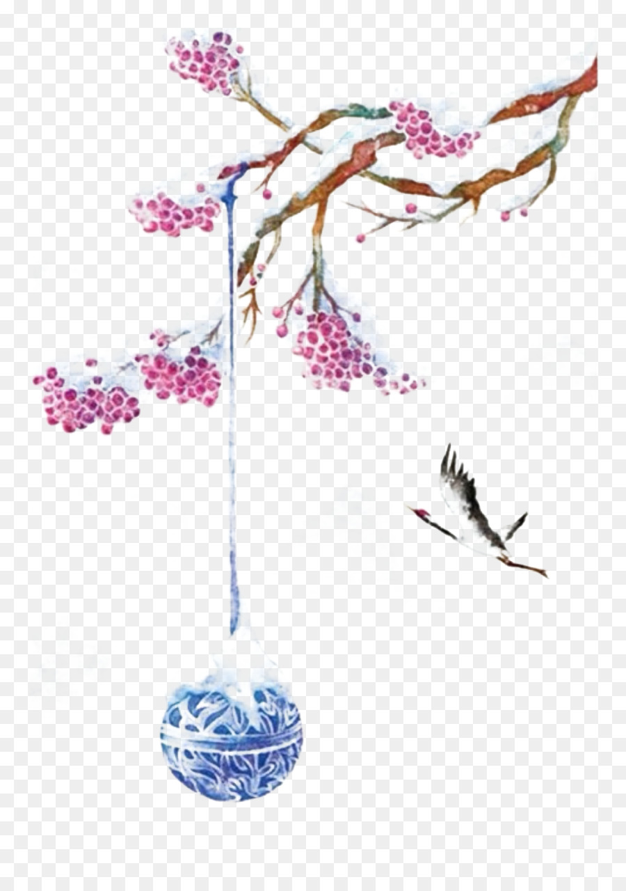 Aquarell Malerei Chinesische Kunst Chinesische Malerei Landschaft Malerei Illustration Flying Crane Png Herunterladen 914 1280 Kostenlos Transparent Baum Png Herunterladen