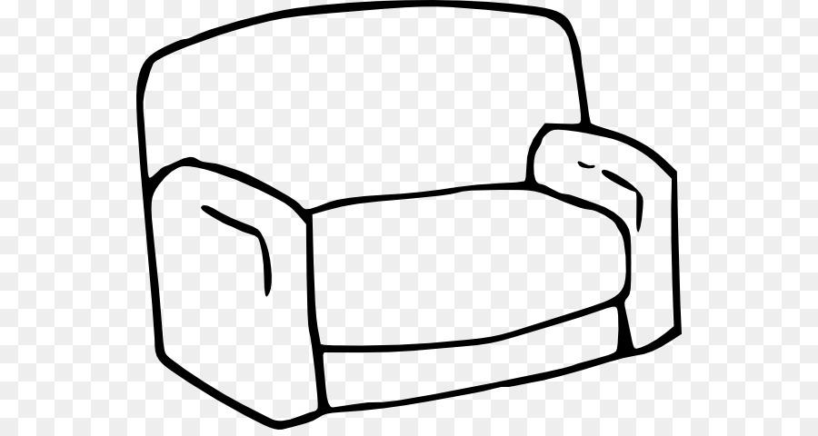 Couch Wohnzimmer Stuhl Mobel Clipart Sofa Bilder Png