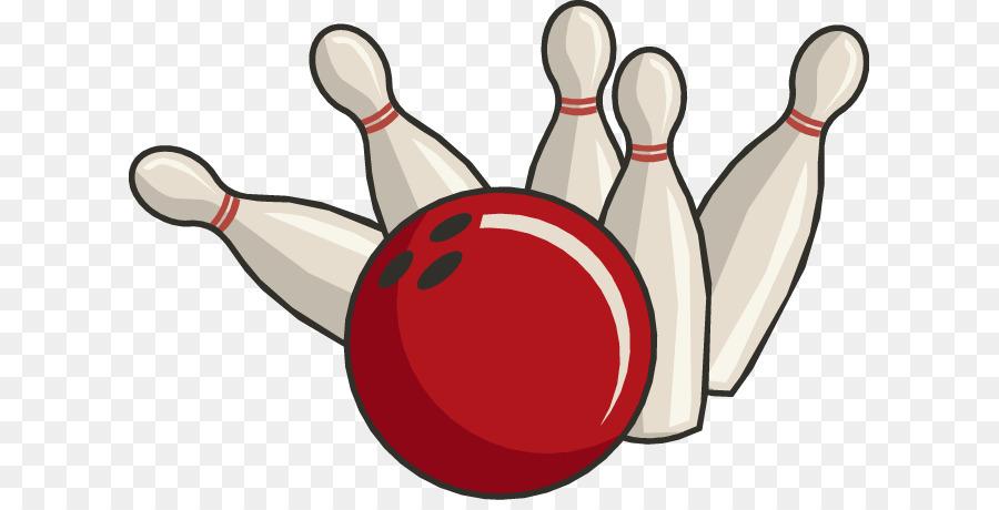 Bowling pin-der Bowling-ball, bowling-clipart - Sommer-Bowling-Cliparts png  herunterladen - 667*451 - Kostenlos transparent Ball png Herunterladen.