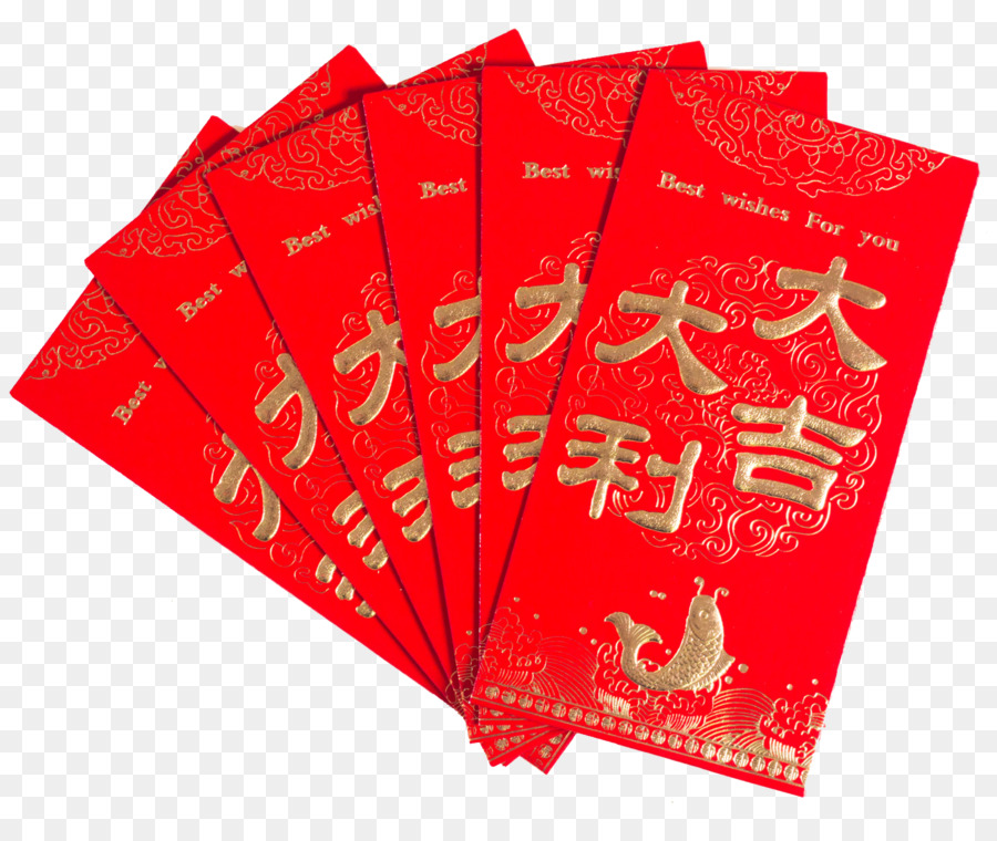 Chinese New Year Red Envelope png download - 1399*1155 ...