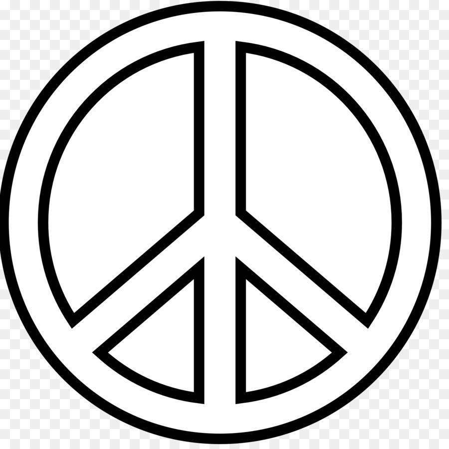 Pace Bianco E Nero pace simboli in bianco e nero di disegno di arte della clip