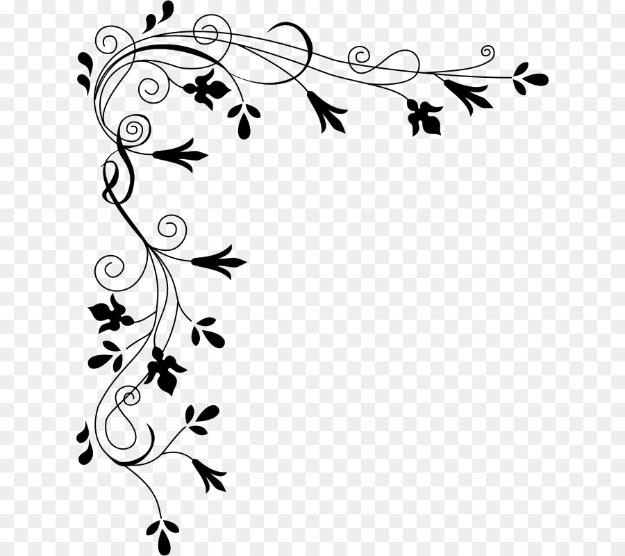 Border Design Black And White Png Download 680 800 Free