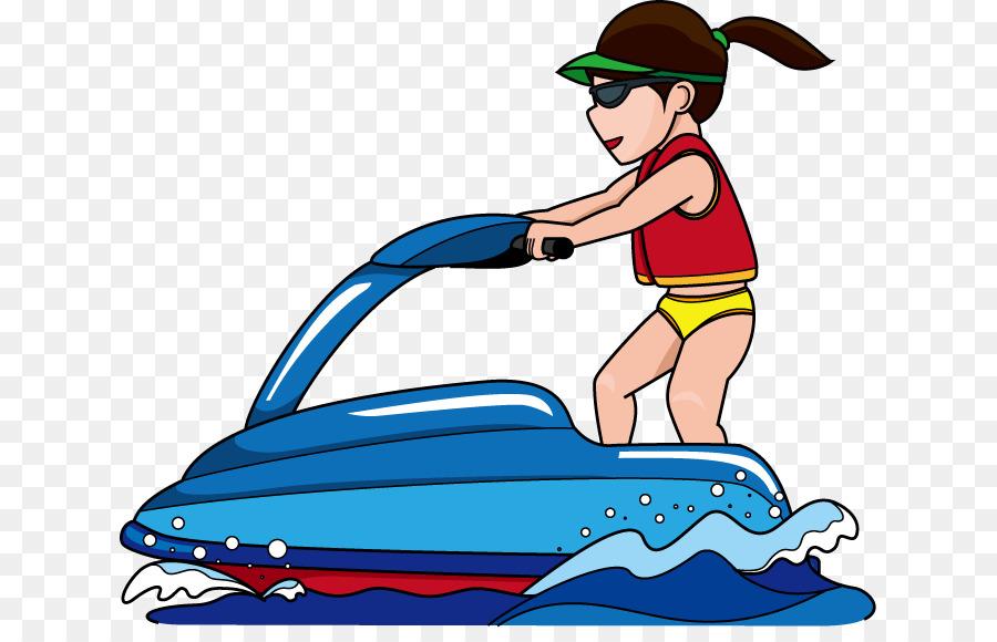 Boat Cartoon Png Download 683 567 Free Transparent Jet Ski Png Download Cleanpng Kisspng