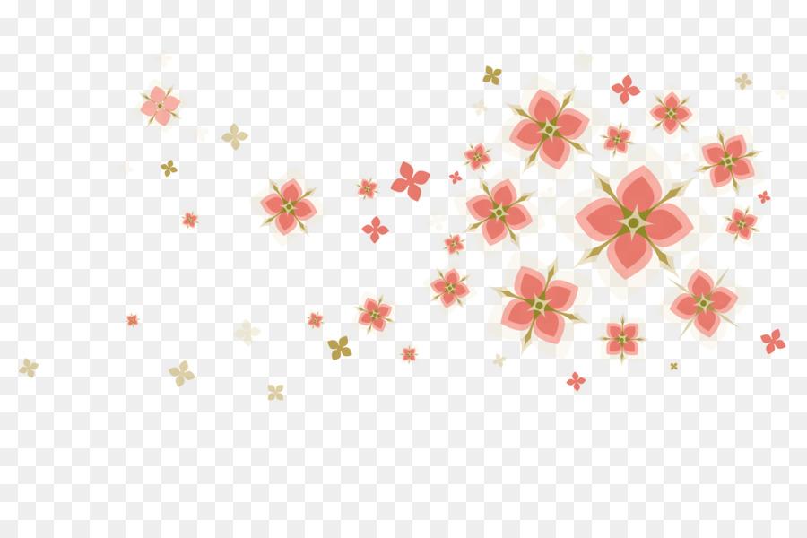 Papier Visitenkarten Cherry Blossom Vorlage Cartoon