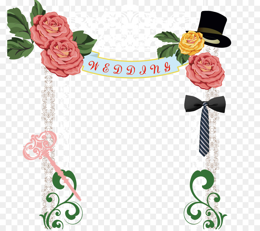Wedding Floral Background Png Download 850794 Free