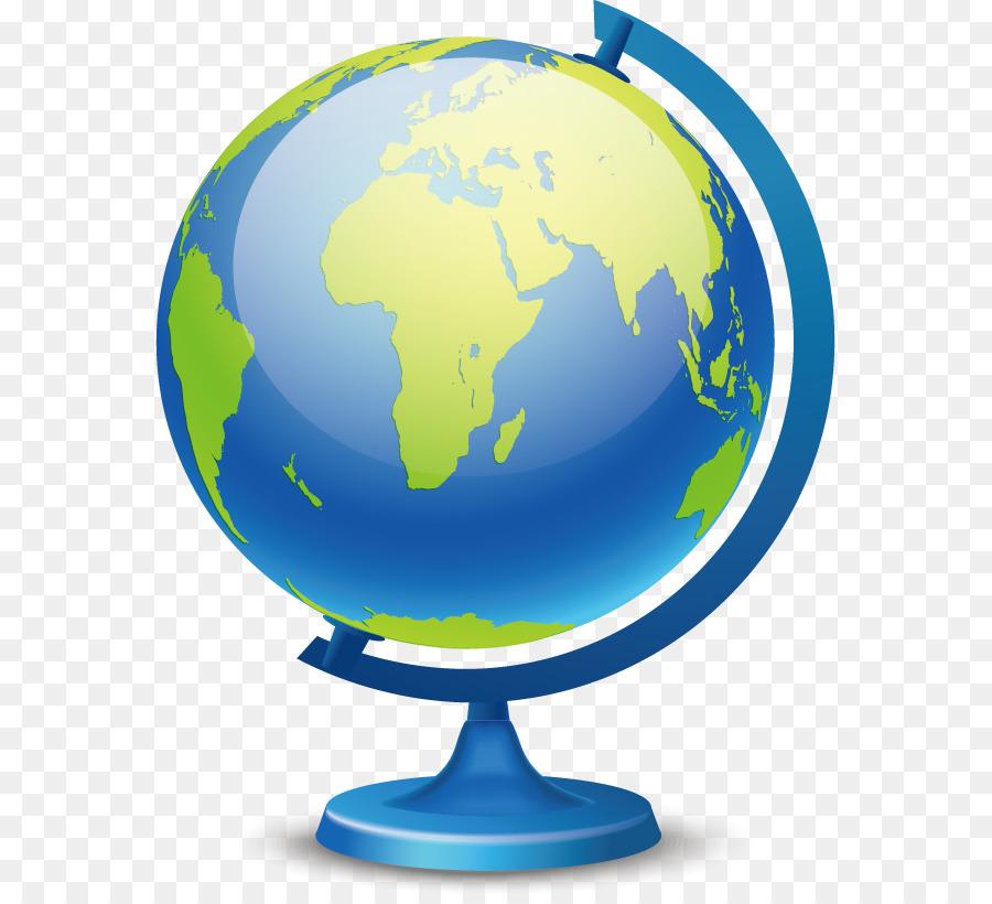 Globus Karte.Erde Globus Karte Vektor Blaue Globus Png Herunterladen