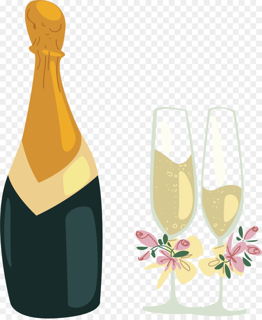 Feiern Party Vektor Icons Champagner Und Kuchen Fur Party