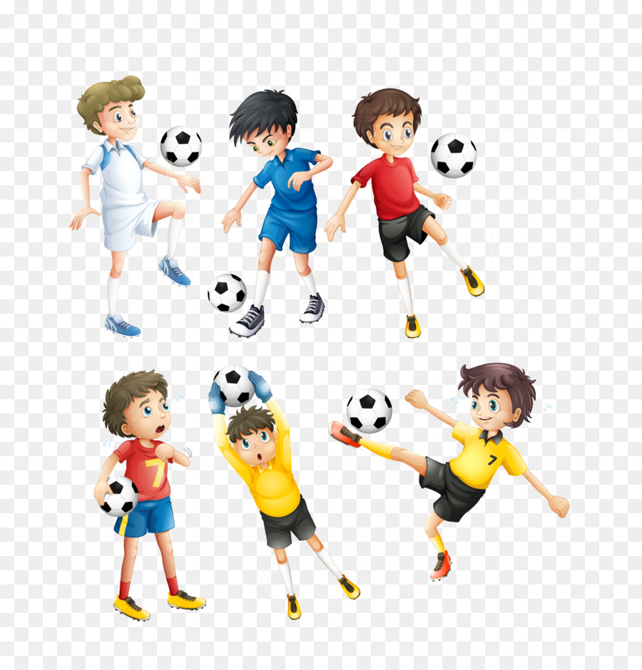 Fussball Spieler Clipart Vektor Kinder Avatar Png