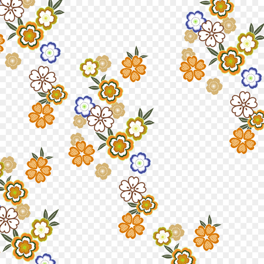 Watercolor Floral Background Png Download 1000 1000 Free