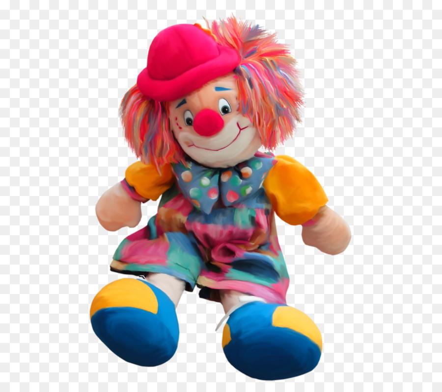 Картинка игрушка клоун