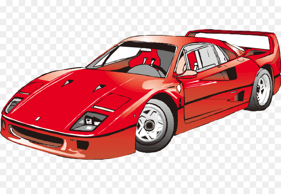 Cartoon Car png download , 1350*908 , Free Transparent Car