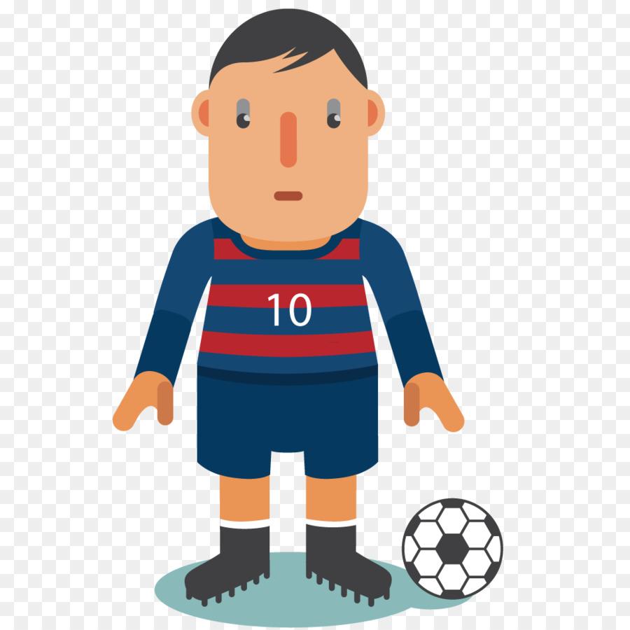 Cartoon Football png download 1000*1000 Free Transparent