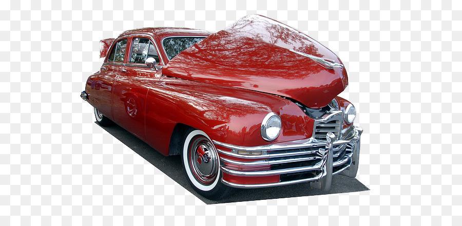 Visitenkarte Auto Show Transport Oldtimer Coolen Roten